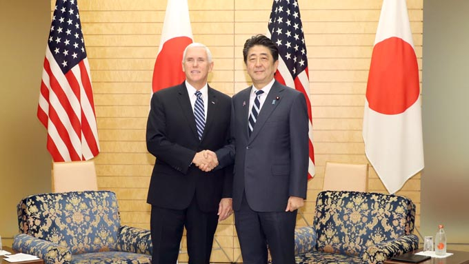 日米貿易協力と一対一路に対する安倍政権の大きな相違
