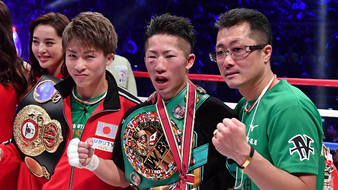 ボクシング兄弟世界王者の井上拓真が兄・尚弥と目指す夢