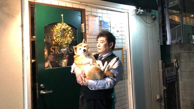 愛らしい「柴犬店長」が迎えるレストランバー『STOLAS』