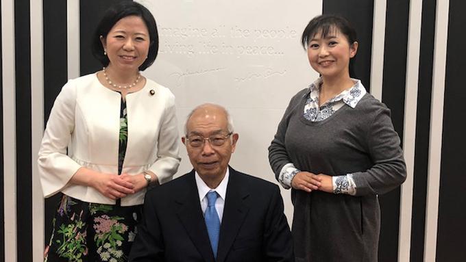 日本対がん協会長 癌で亡くなった妻との別れ