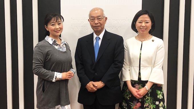 日本対がん協会長が語る 「がん患者は家族と一体」