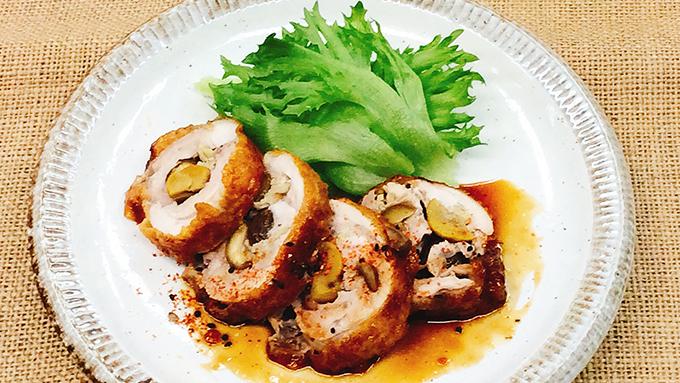 美味しい「鶏肉の甘辛ロール」の作り方