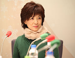 榊原郁恵さんが生登場!
