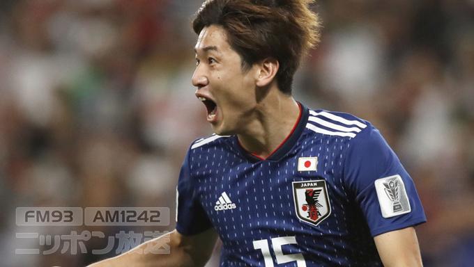 サッカー日本代表 南野「サコくん(大迫)がなかでしっかりと決めてくれた」