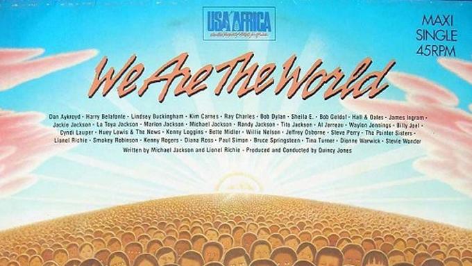 1985年1月28日、ポップ・ミュージック史における金字塔となるヒット曲「ウィ・アー・ザ・ワールド」が録音