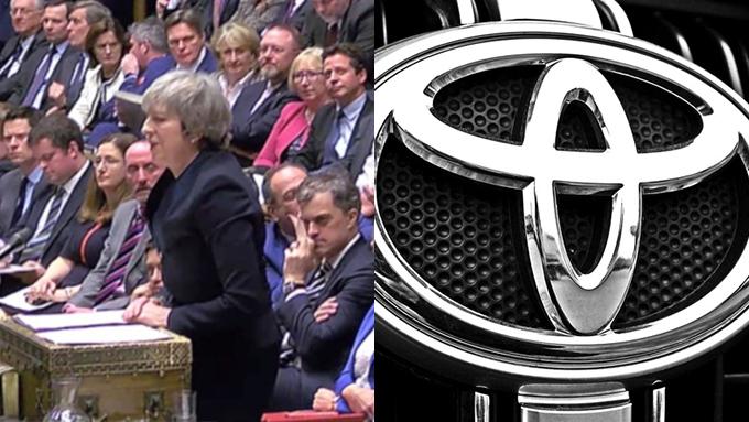 合意なきEU離脱となれば英国のトヨタの工場は1日もたない