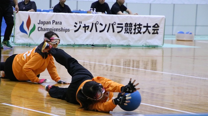 日本、リオ金のトルコに敗れ準優勝 ゴールボール女子 2019ジャパンパラ競技大会