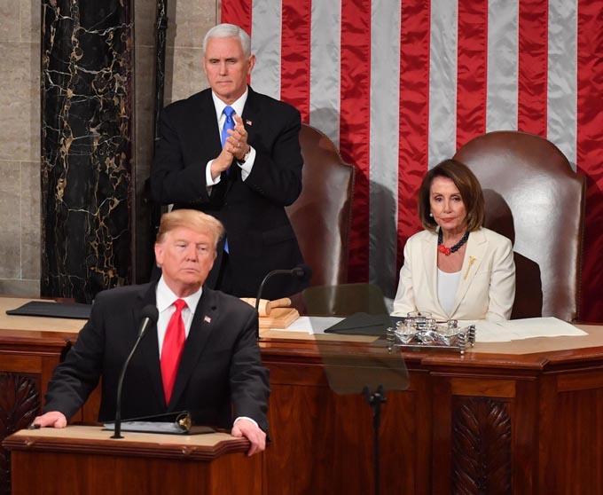 トランプ 大統領 一般教書演説 壁建設 大統領選挙 スピーチ 一般教書 アメリカ 米朝