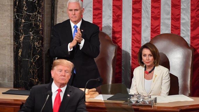 """トランプ大統領が一般教書演説で告げた""""2つの宣言"""""""