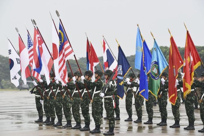 在韓米軍 コブラゴールド 多国間訓練 軍事演習 自衛隊 トランプ 韓国 米韓 文在寅 北朝鮮