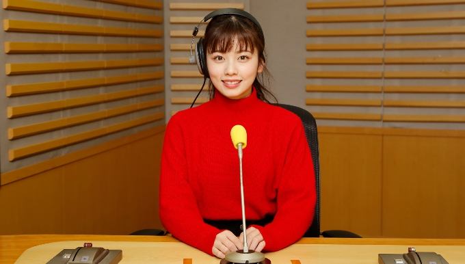 ラジオパーソナリティーの小芝風花