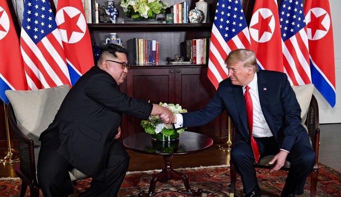 米朝 首脳会談 ベトナム ハノイ 北朝鮮 アメリカ トランプ 金正恩 不可侵宣言 打診