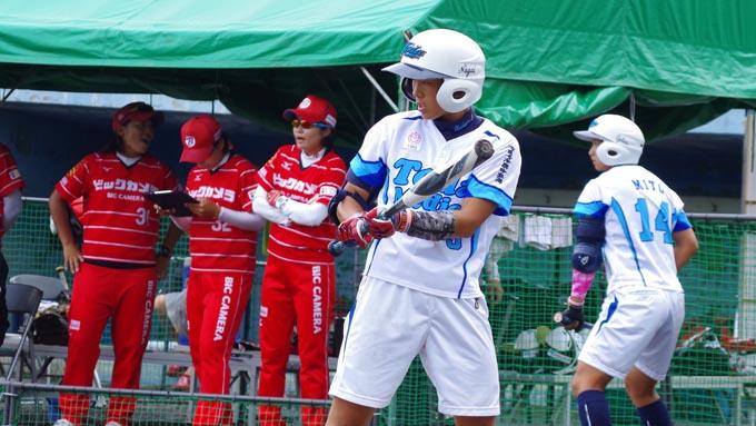 女子ソフト・決勝トーナメントで勝ちたい 戸田中央総合病院・上原選手