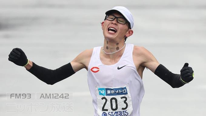 中大・堀尾 東京マラソン5位は河川敷のおかげ