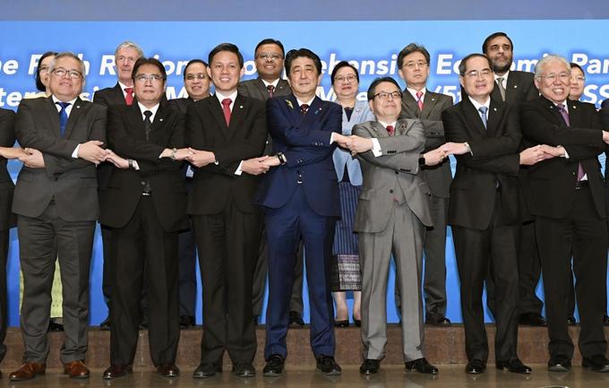 RCEP TPP 経済連携協定 中国 習近平 安倍 ASEAN 東南アジア諸国連合 韓国 インド