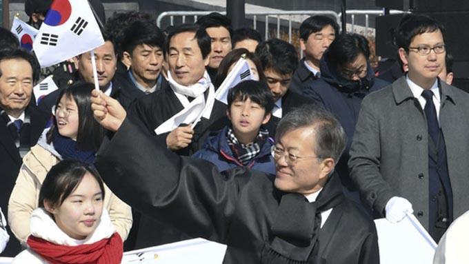 韓国文大統領~「親日の清算」を掲げ価値観の転換を図る