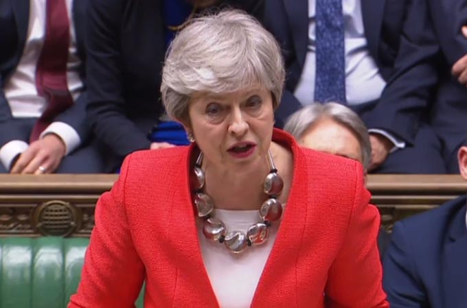 EU離脱 イギリス ロンドン 大規模デモ 離脱協定案 メイ首相 ブレグジット
