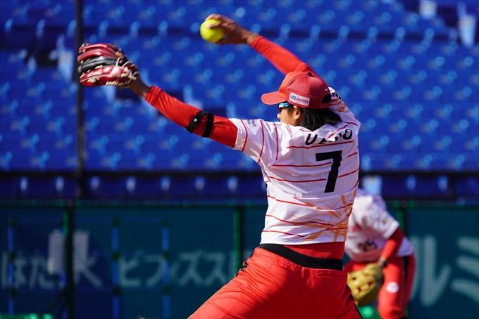 女子ソフト・上野由岐子投手 若い選手にチャンスを与えて行けるような試合を