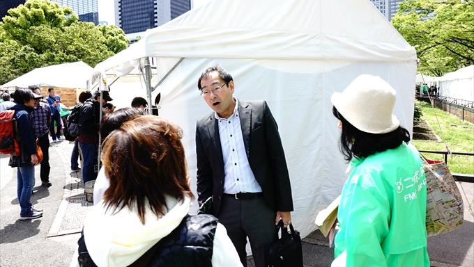 上柳アナ、飯田アナ ラジオパーク会場で大人気【ラジオリビングブース、オールナイトニッポンi】
