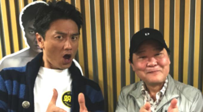 """ダチョウ倶楽部上島 原田龍二に""""裸の極意""""を伝授!"""