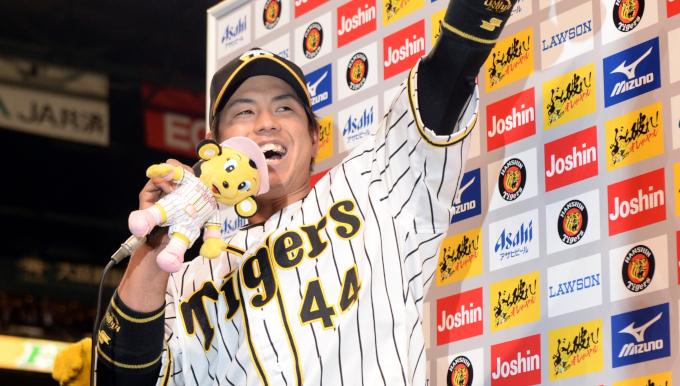阪神・梅野 「サイクルヒットは表彰されるまで気がつかなかった」