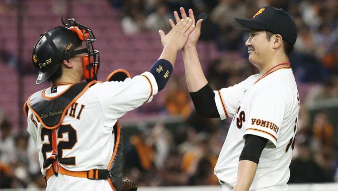 巨人・菅野が令和初の完投勝利 平成初勝利を挙げた桑田のようにチームを牽引