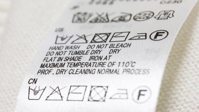 「洗濯表示」の種類をきちんと知っていますか?