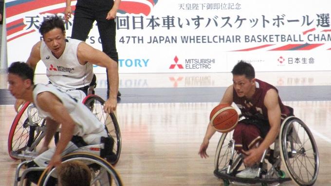 観客1万人以上! 天皇杯第47回日本車いすバスケットボール選手権大会を新行市佳が観戦取材!