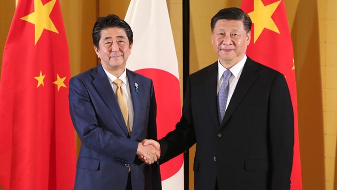 安倍総理が中国の習近平国家主席と会談~来年の春再来日で合意