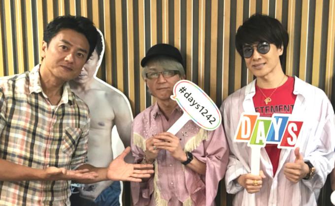 同じ1992年デビューのaccess浅倉大介・貴水博之と原田龍二が同世代トーク