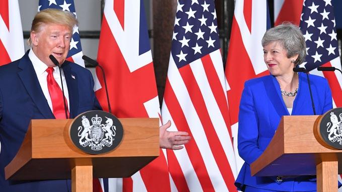 トランプ大統領訪英~最大限の歓迎もファーウェイ問題では足並み揃わず