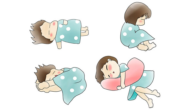 寝る時の姿勢、仰向け?うつ伏せ?横向き?どれがいい?? 医師が回答