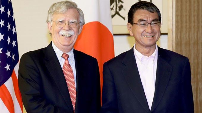 ボルトン大統領補佐官来日~有志連合に日本はどのような形で参加するのか
