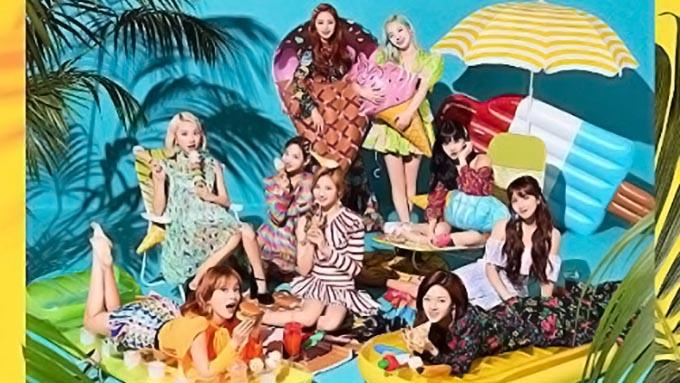 TWICEのNewシングル『HAPPY HAPPY』がランキング1位を獲得