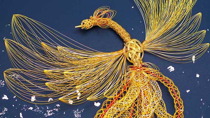 「水引アーティスト」舟木香織~グッチも魅了した水引の美しさ