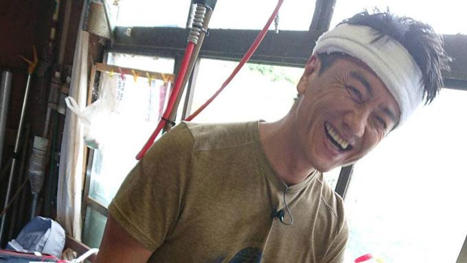 原田龍二が収穫した「デストロイヤー」に中川家も関心