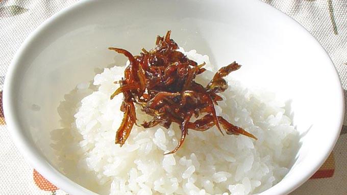 江戸時代、佃煮は保存食として作られていた