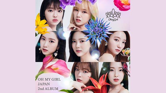 OH MY GIRLのNewアルバム『OH MY GIRL JAPAN 2nd ALBUM』が1位