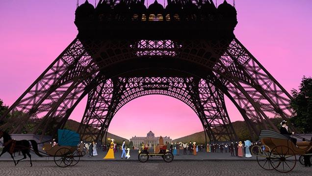 ひとりぼっちの少女が古き良きパリで出会ったものとは…