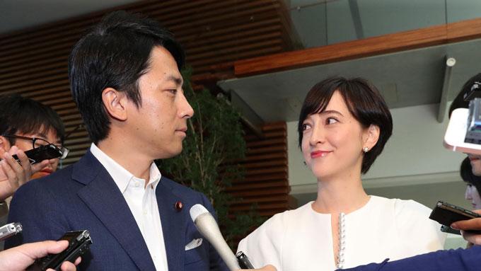 小泉進次郎が入閣……これは滝川クリステルとの結婚発表の時に見えていたシナリオ!?
