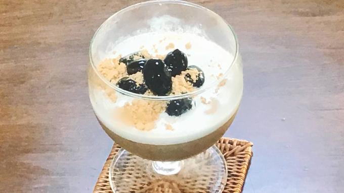 糖業協会プレゼンツめっちゃええレシピ~中川家と食卓~『きな粉と豆乳の和風プリン』