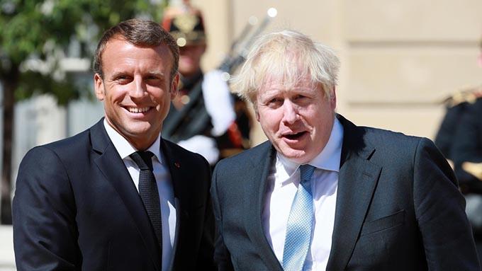 メイ前首相にできなかったことがジョンソン首相にできるのか~英仏首脳会談でEU離脱問題かけひき