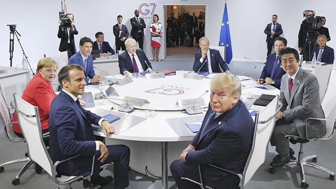G7の最大のポイントは「アメリカ対EU」の攻防