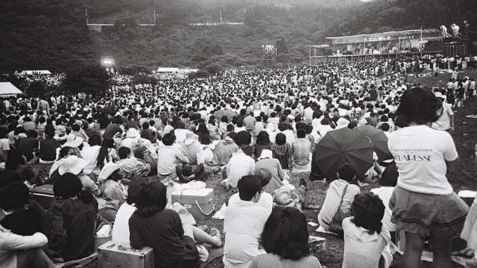 """1971年8月6日、伝説の野外イベント""""箱根アフロディーテ""""が開催"""