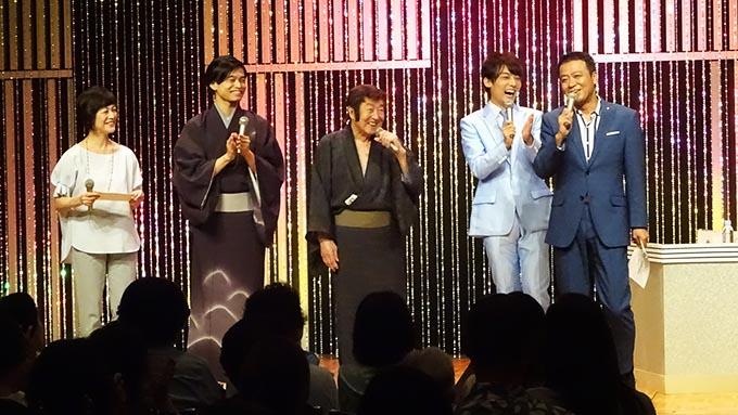 大衆演劇のレジェンド・沢竜二の指導で、辰巳ゆうと、二見颯一が立派な侍に成長!?