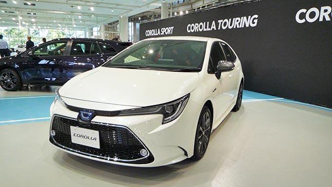 「新型カローラ」発表、日本の自動車市場が1つの節目に?