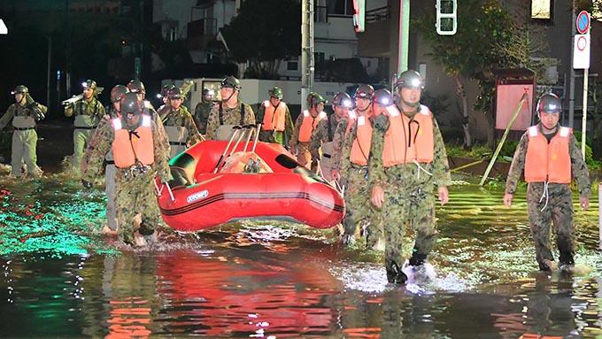台風19号~江戸川区に見る各自治体に必要なこと