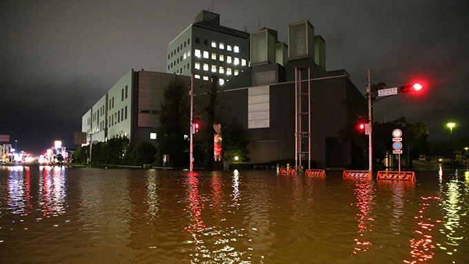 千葉で記録的大雨~茂原市の厳しい現場からの報告