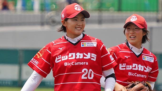 日本期待の次世代エース・勝股美咲 同じチームの上野投手はやっぱり憧れの存在