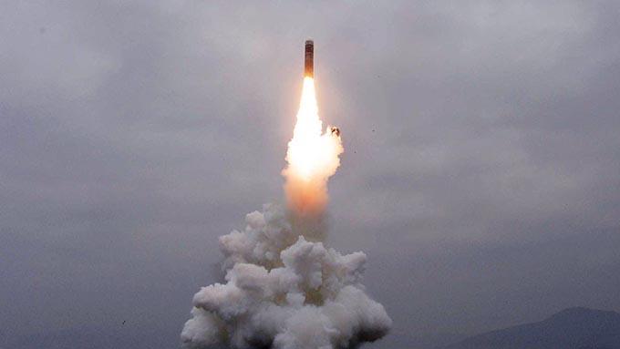 発射された北朝鮮ミサイルは潜水艦発射型「北極星3」~これを機にGSOMIAの失効を回避するべき